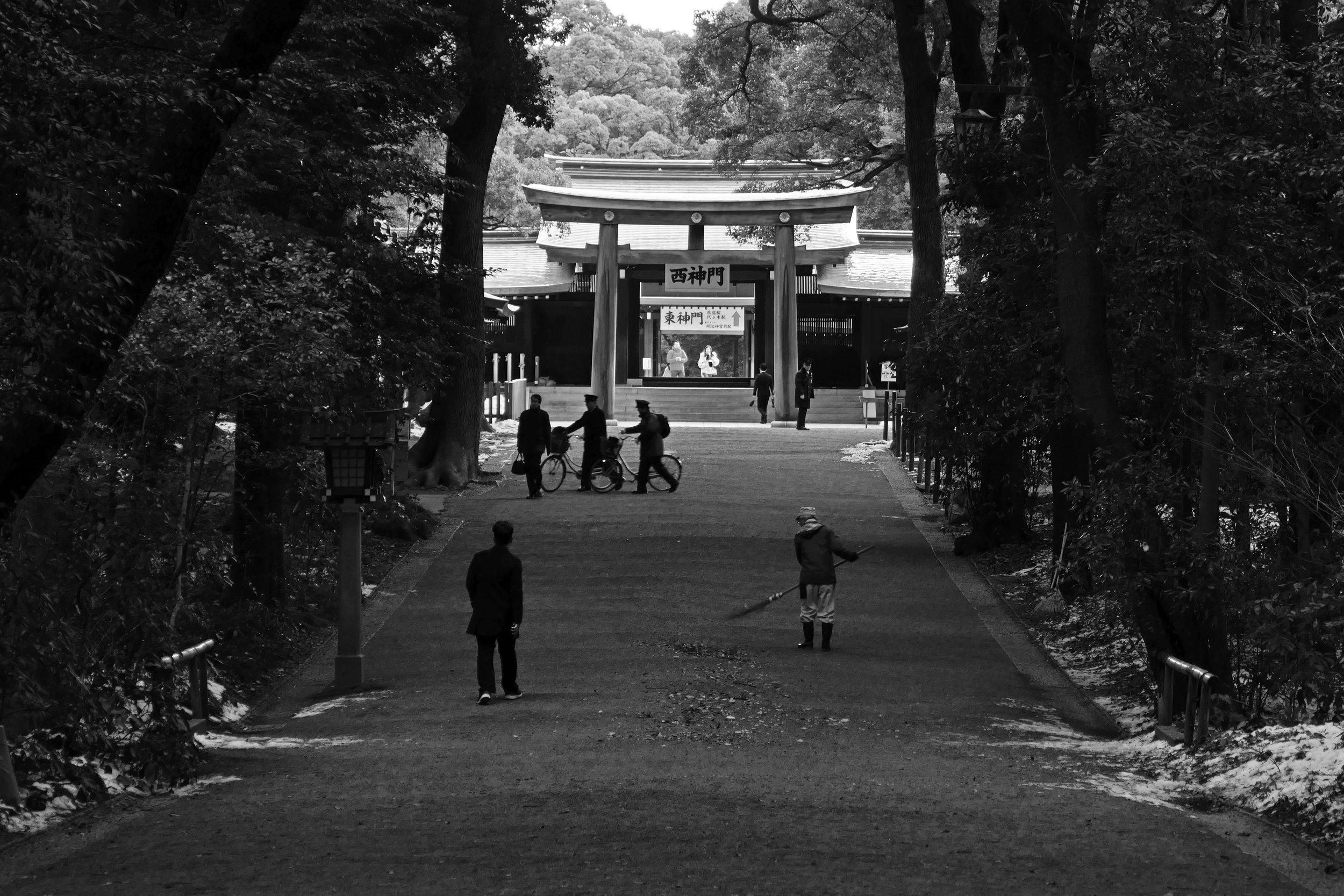 A park in Tokyo