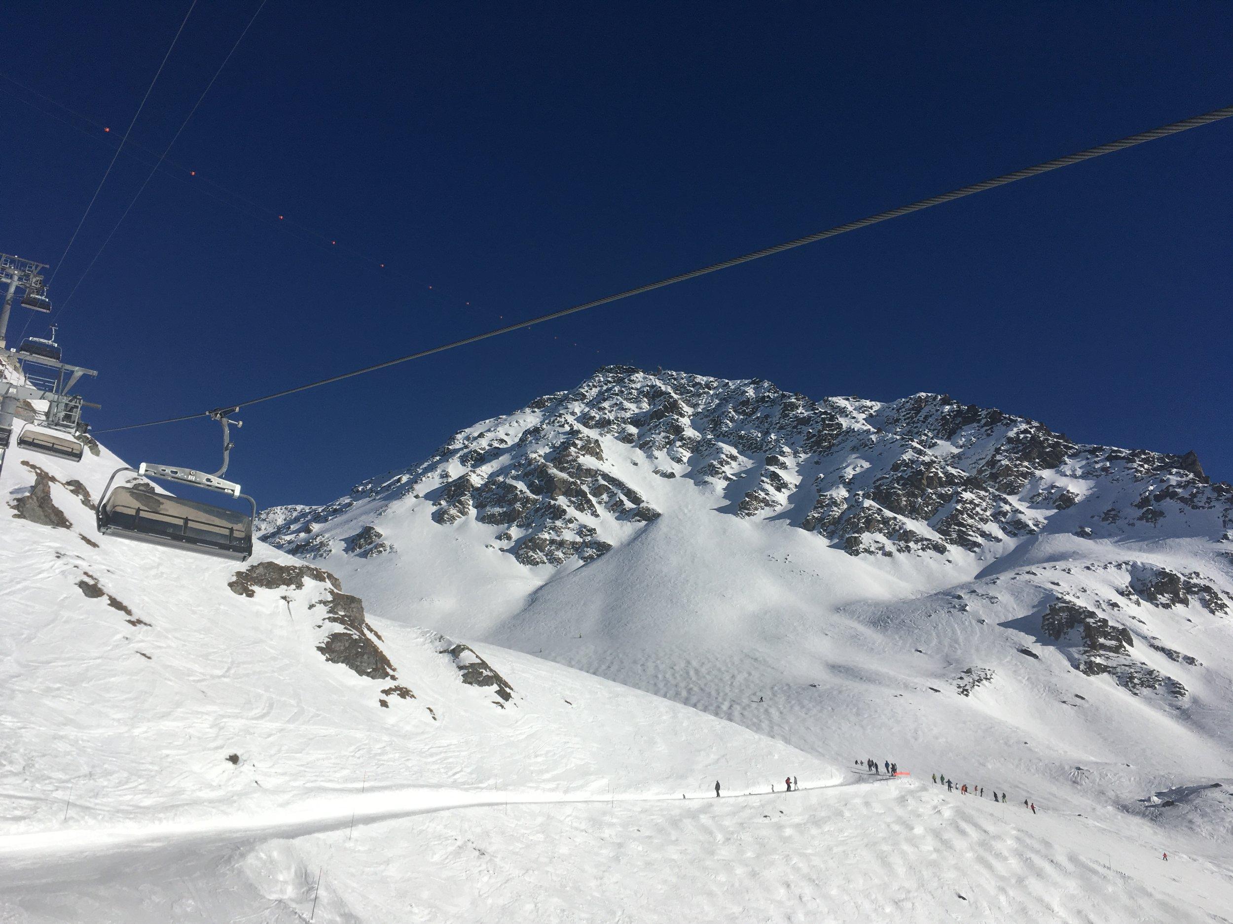 Mt Gele, my favourite.