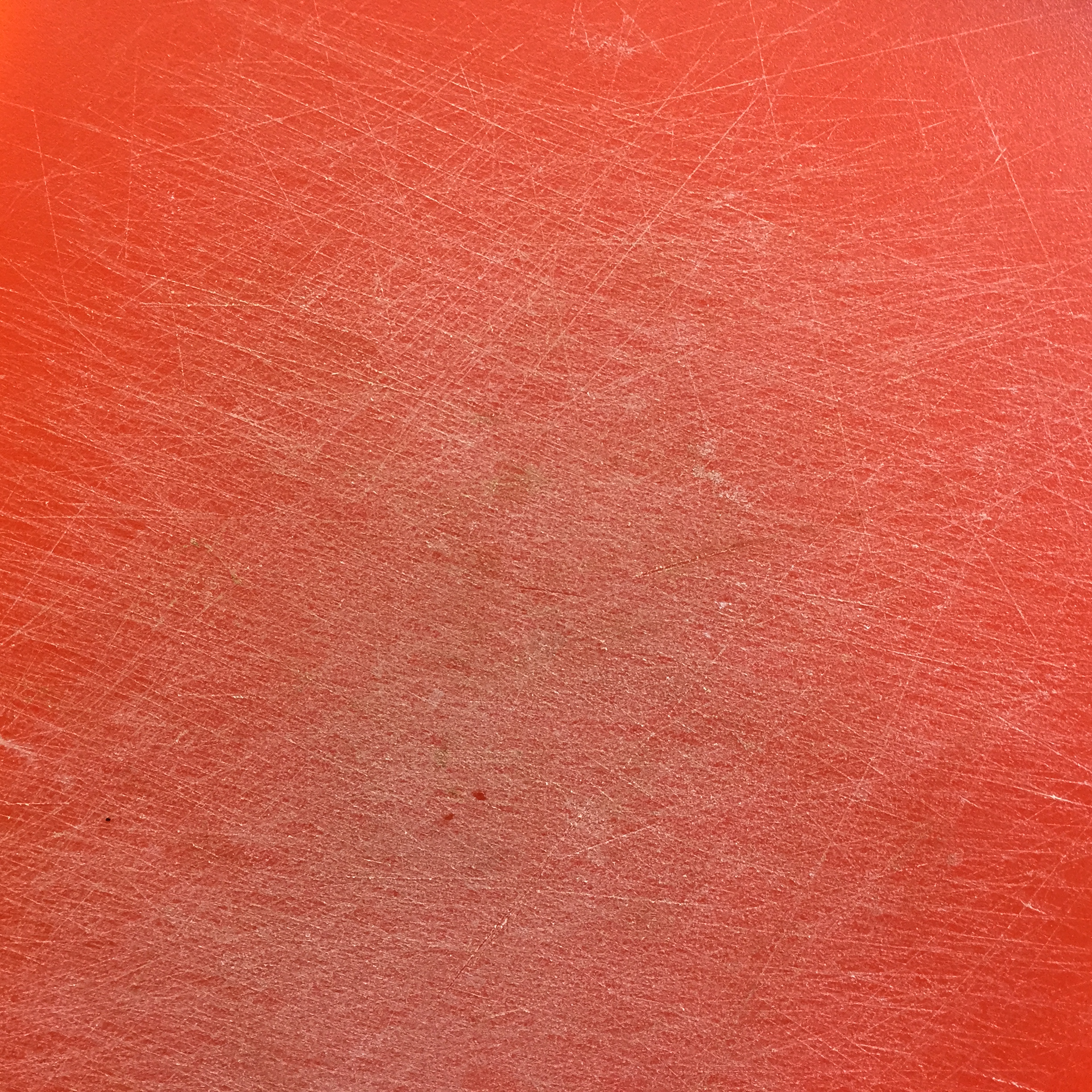 """Scarring"" on a plastic cutting board"