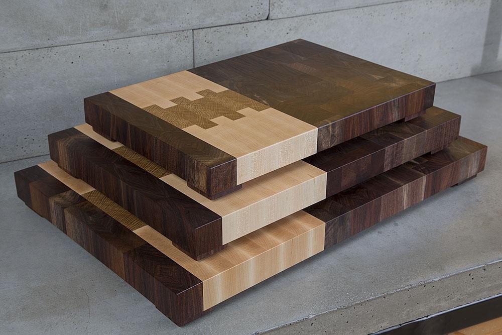 portland oregon america usa american made end grain butcher block cutting board