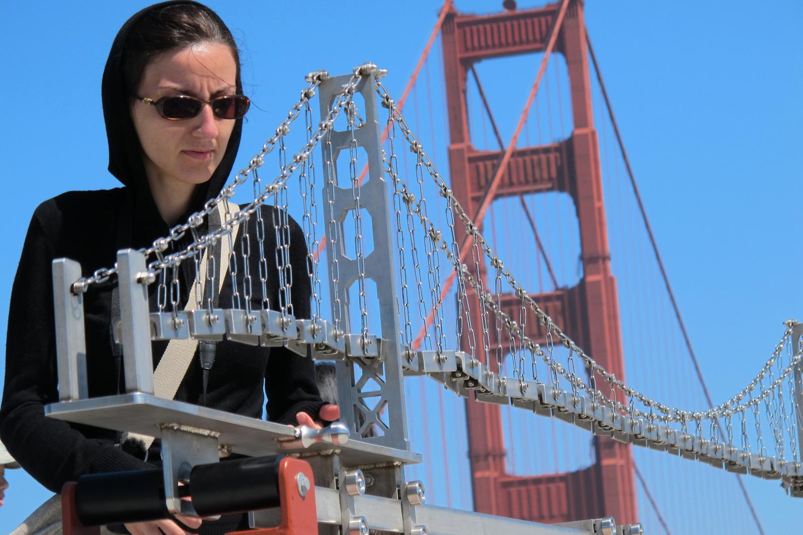Golden Gate Bridge Model