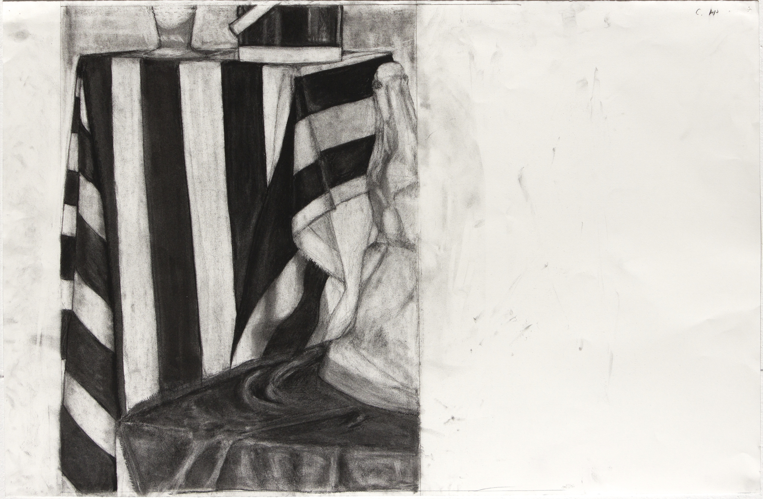 Still Life (pencil and charcoal drawing)