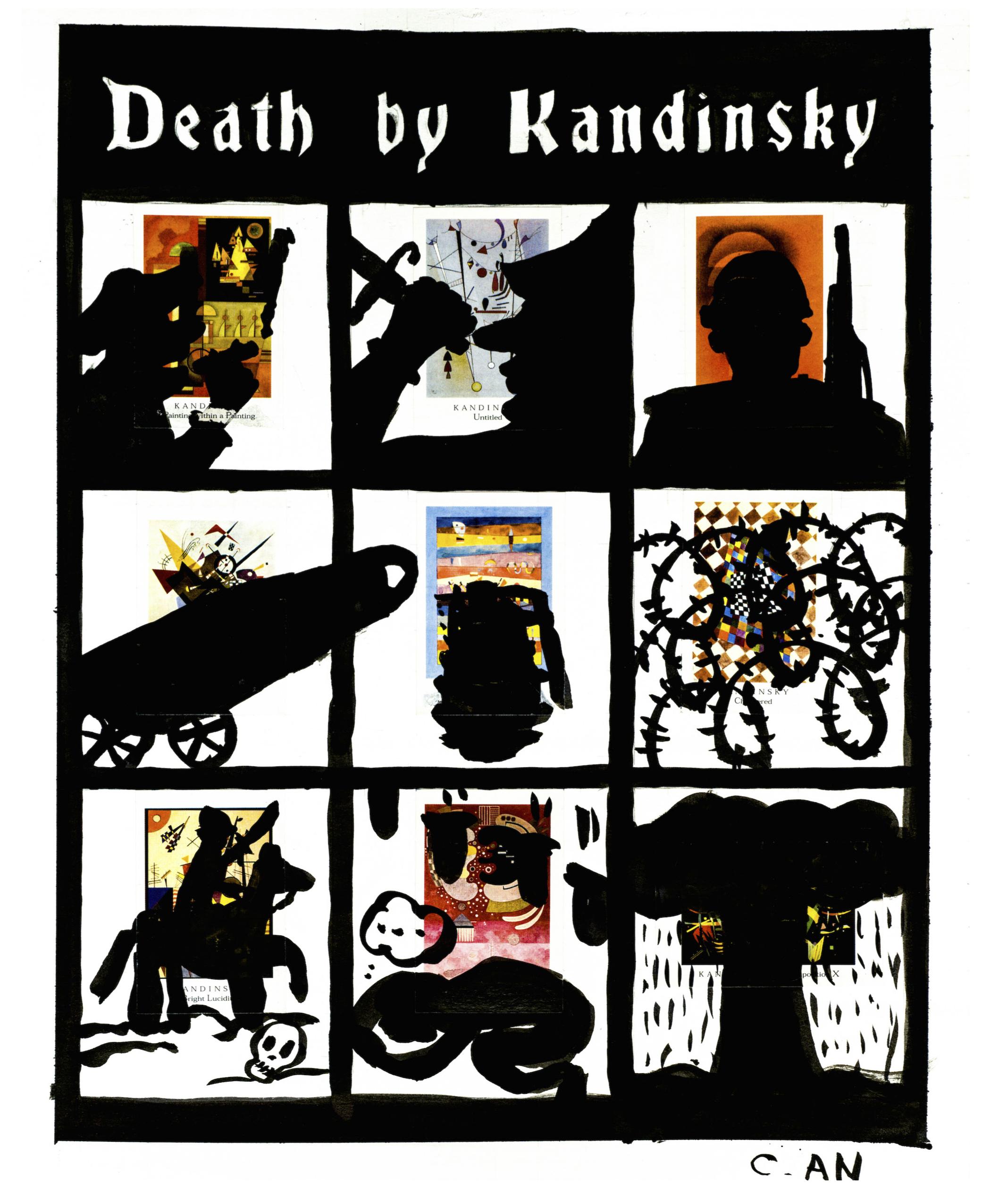 Death by Kandinsky