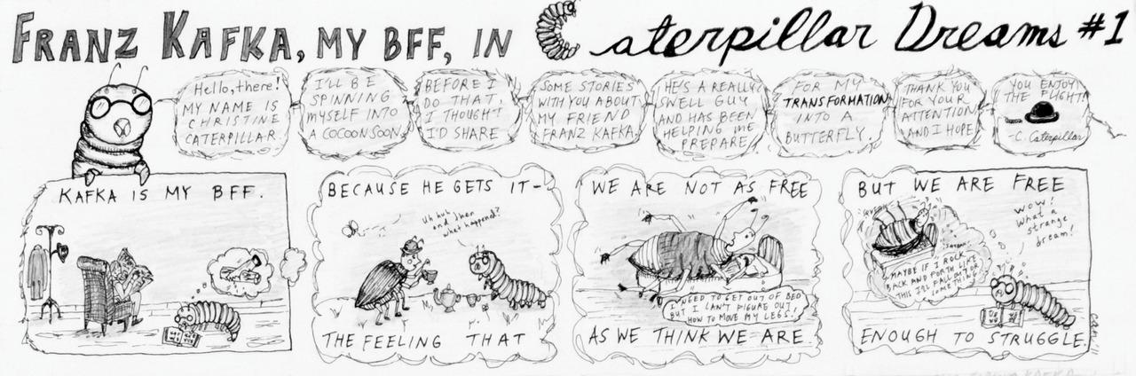 Caterpillar Dreams #1