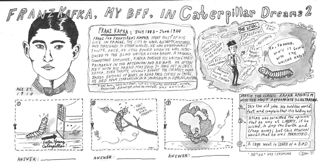 Caterpillar Dreams #2