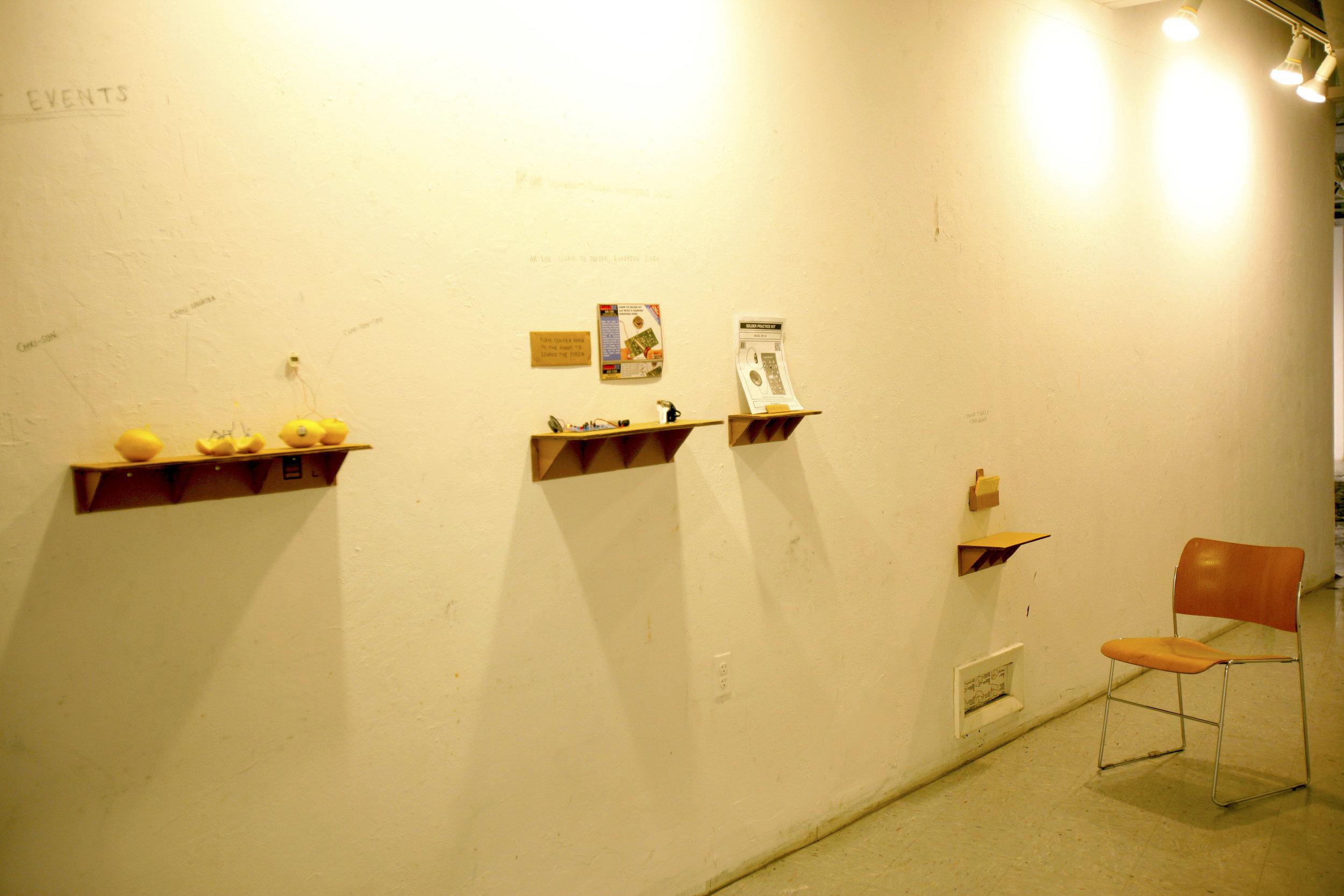 installation at bard mfa 1st year show