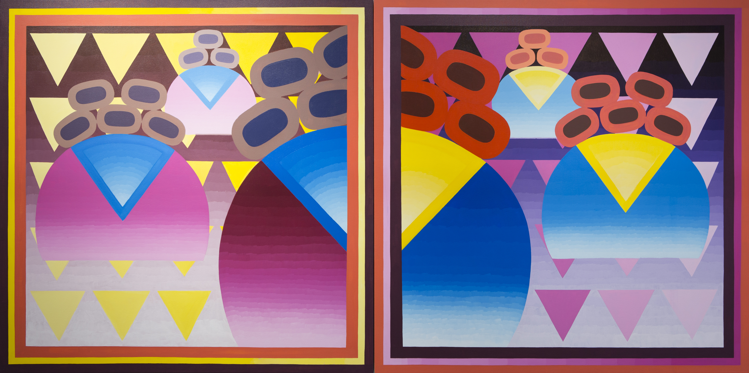 One More Slice (Diptych)