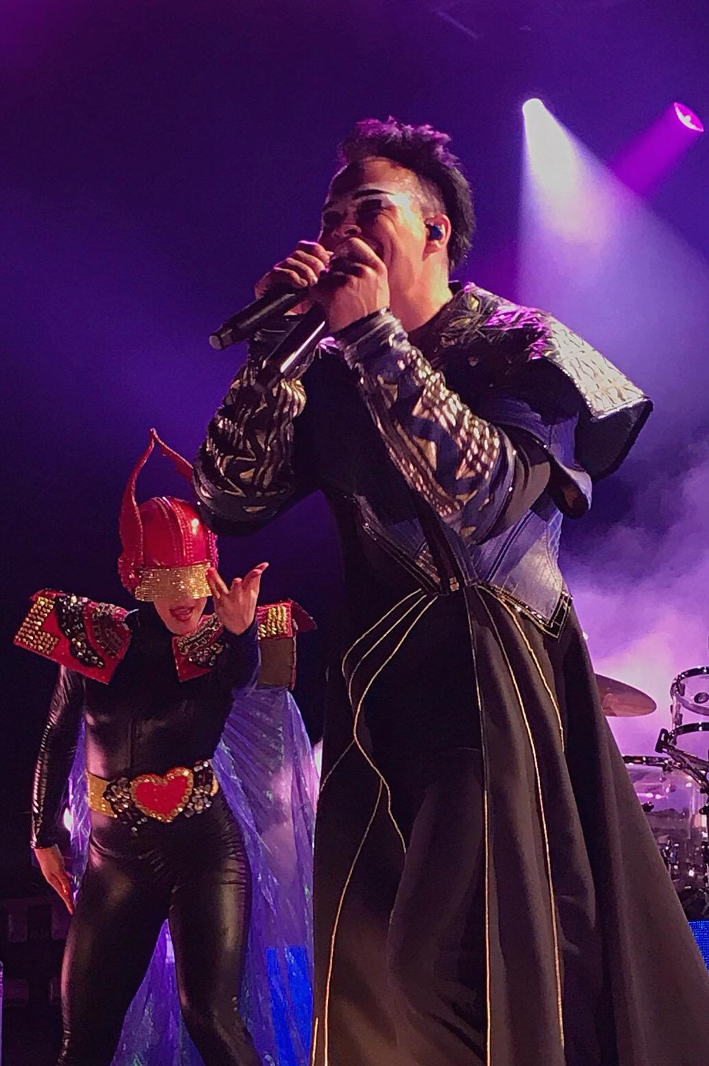 Alive costumes - Empire of the Sun