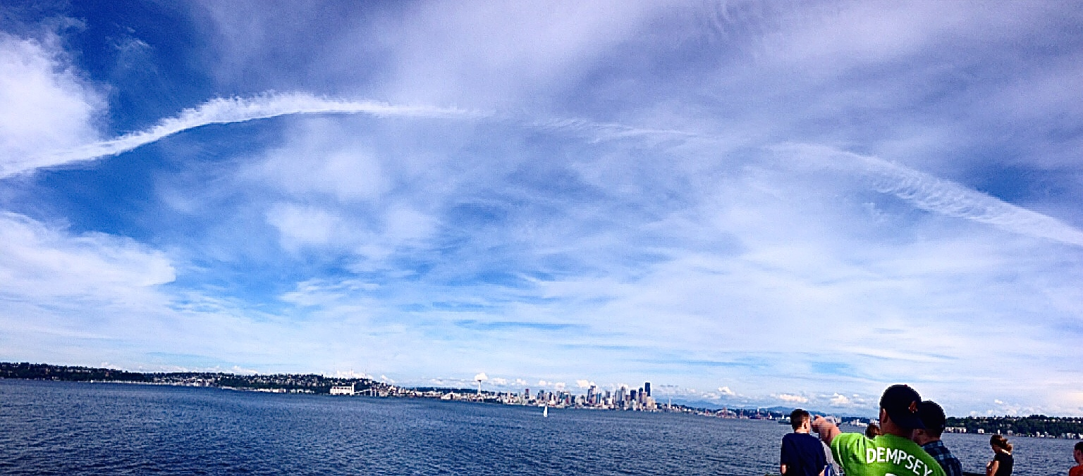 Ferry ride back to Seattle from Port Angeles.