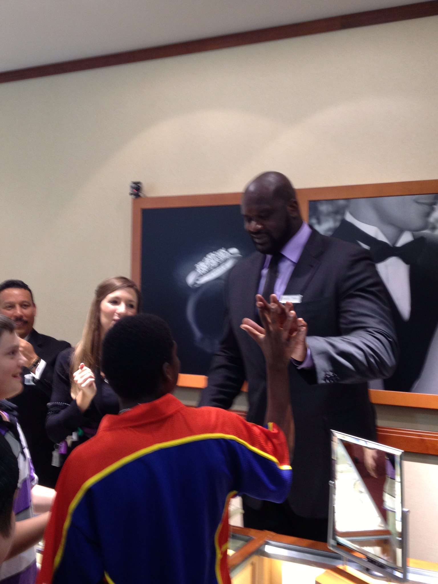 - That one time Shaquille O'Neal was in the building.