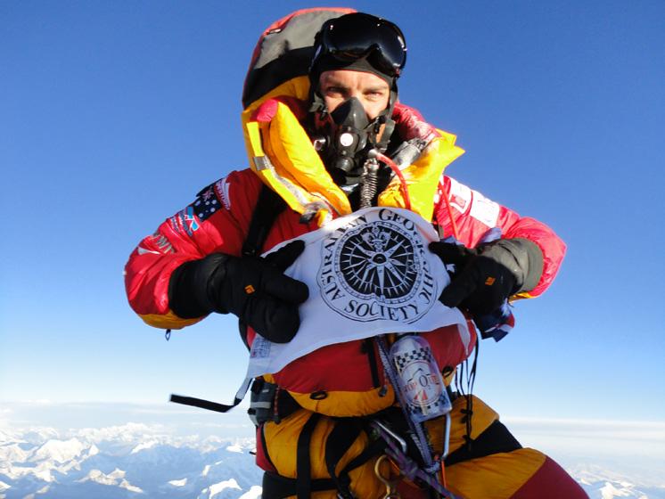 Pete Wells_Everest Summit
