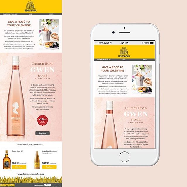 Going to miss working on Henry & Paul, better make the most of the staff deals while I can!! • • • • • #gwenrosé #pernodricard #graphicdesign #edm #alcohol #wine #workperks #foodartist #designer #food #beverage