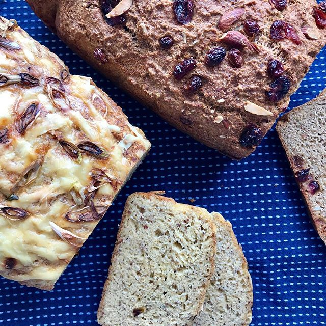 Paleo Bread Take Three!! I've created two new flavours. Spiced Fruit & Nut, and Cheese & Onion. If only You could smell my kitchen right now 🙌🏼 • Spiced Fruit & Nut Loaf has cranberries, premium sultanas, slithered almonds, goji berries, sunflower seeds, coconut shavings, mixed spice and extra cinnamon. • Cheese & Onion Loaf has Parmesan cheese, powered onion and spring onions. • • • • • #paleo #paleobread #foodporn #healthyfood #cheese #bakery #homemade #food #foodphotography #foodartist #glutenfree #bread #healthyrecipes #snack
