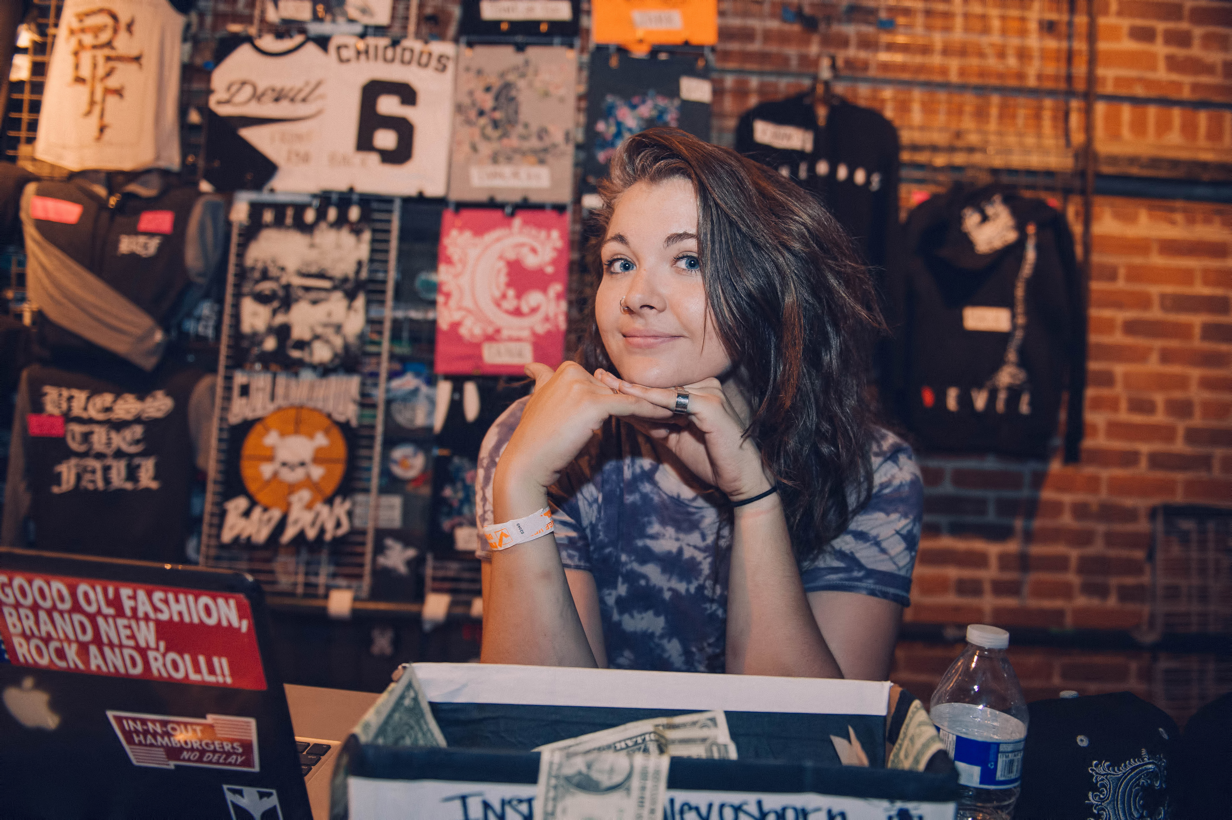 Ashley! I'm kind of in love with this photo. If you make it out to see Chiodos, go buy some mercy and tip this lovely lady!