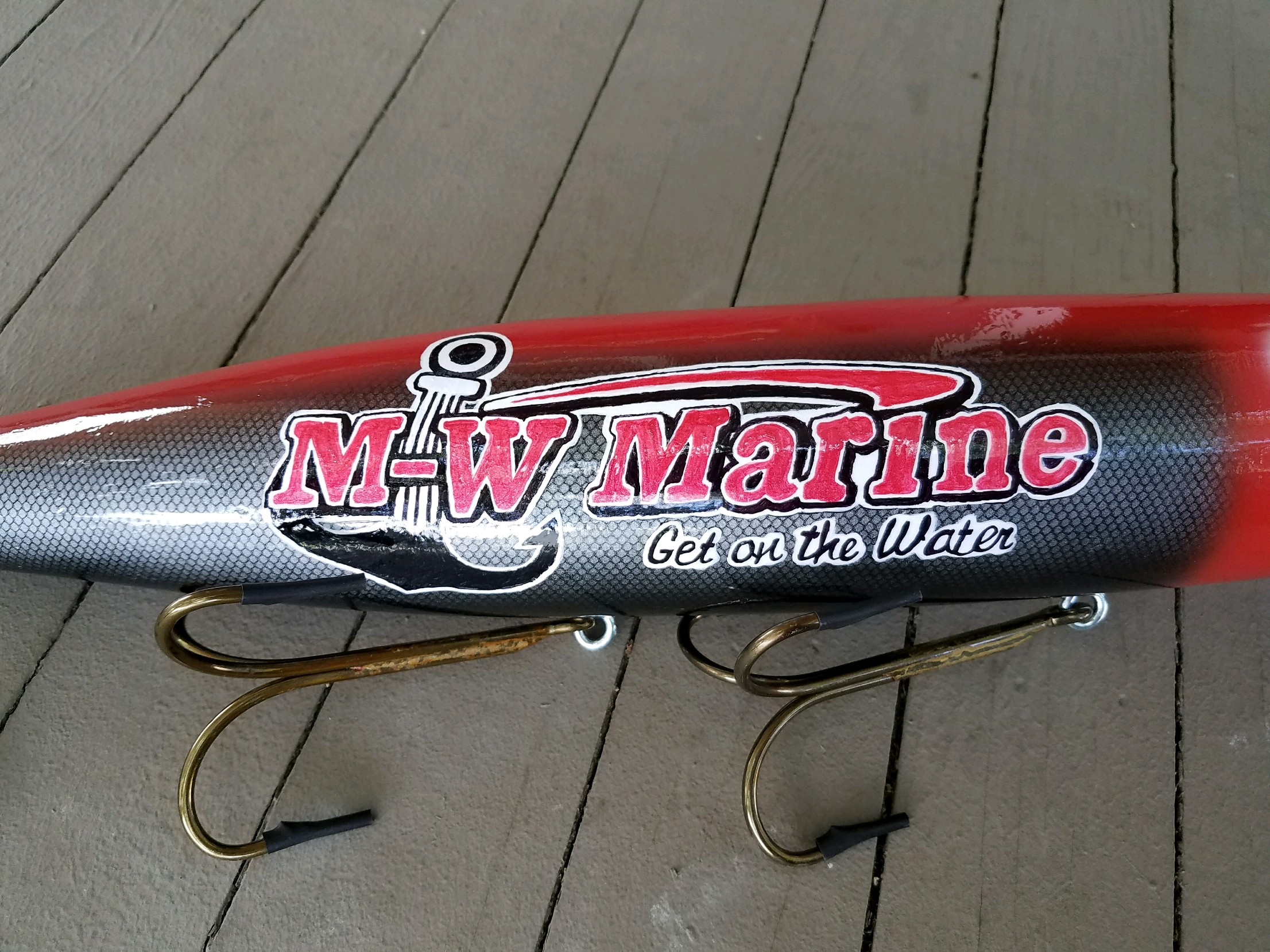 XXL Display Lure: M-W Marine (2)