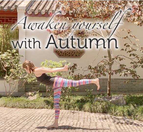Awaken yourself with autumn