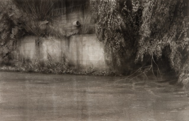 Portal, Ink & Pencil on Paper 39cmx60cm