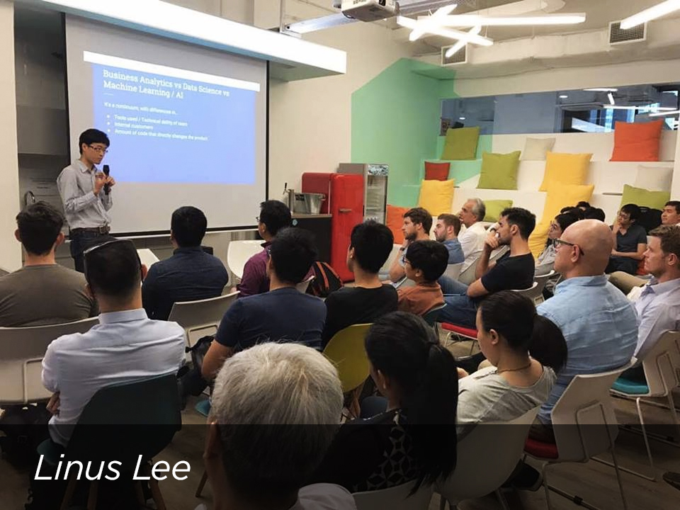 Linus Lee , Head of Data Science at Twitter Singapore, shared his insights on using data science for your startup, as well as its real world applications at Twitter.