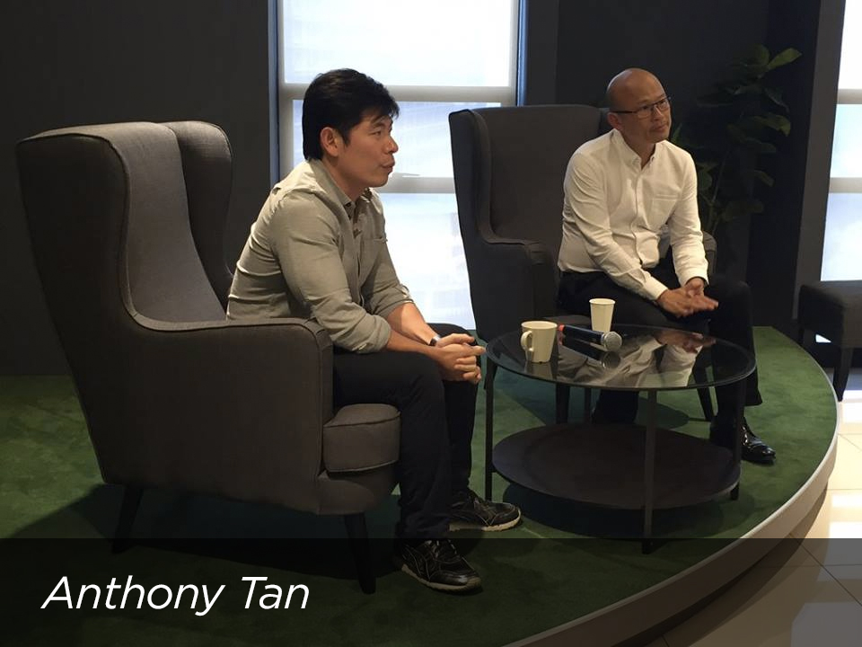Anthony Tan , CEO and Founder of Grab, shared his experiences starting and scaling Grab across Southeast Asia.