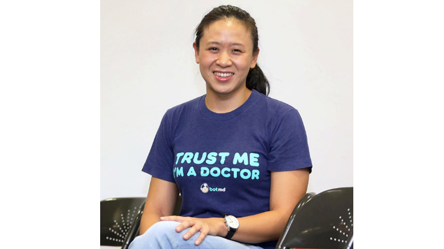 Dorothea Koh  is the CEO and Founder of  Bot MD , a smartphone AI assistant for doctors. She has a passion for healthcare and emerging markets and her personal mission in life is to impact 100 million patients by the age of 40.