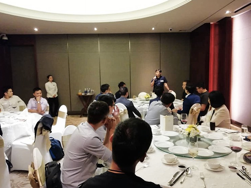 Founders' Dinner in Ho Chi Minh City, Vietnam  on January 2019