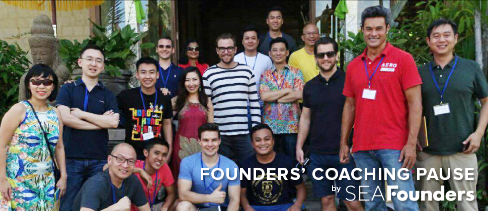 Founders' Coaching Pause  A leadership program for entrepreneurs to take a moment to pause and refocus their goals.