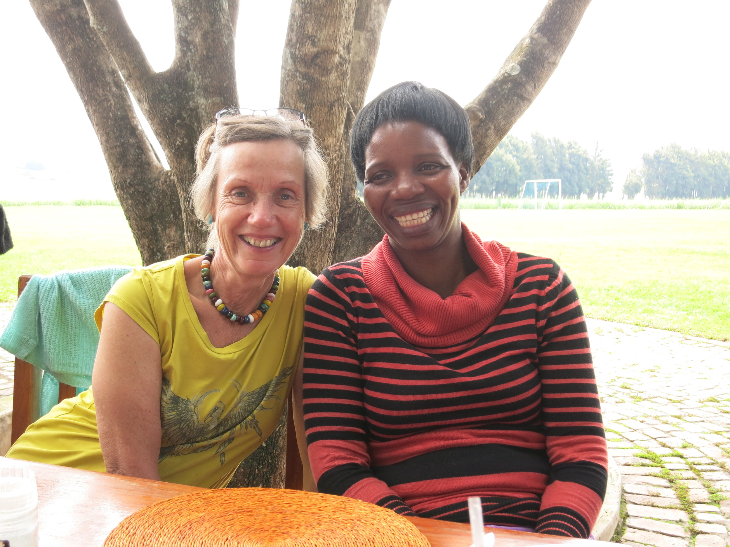 Els and Busi have been working together since 1991.