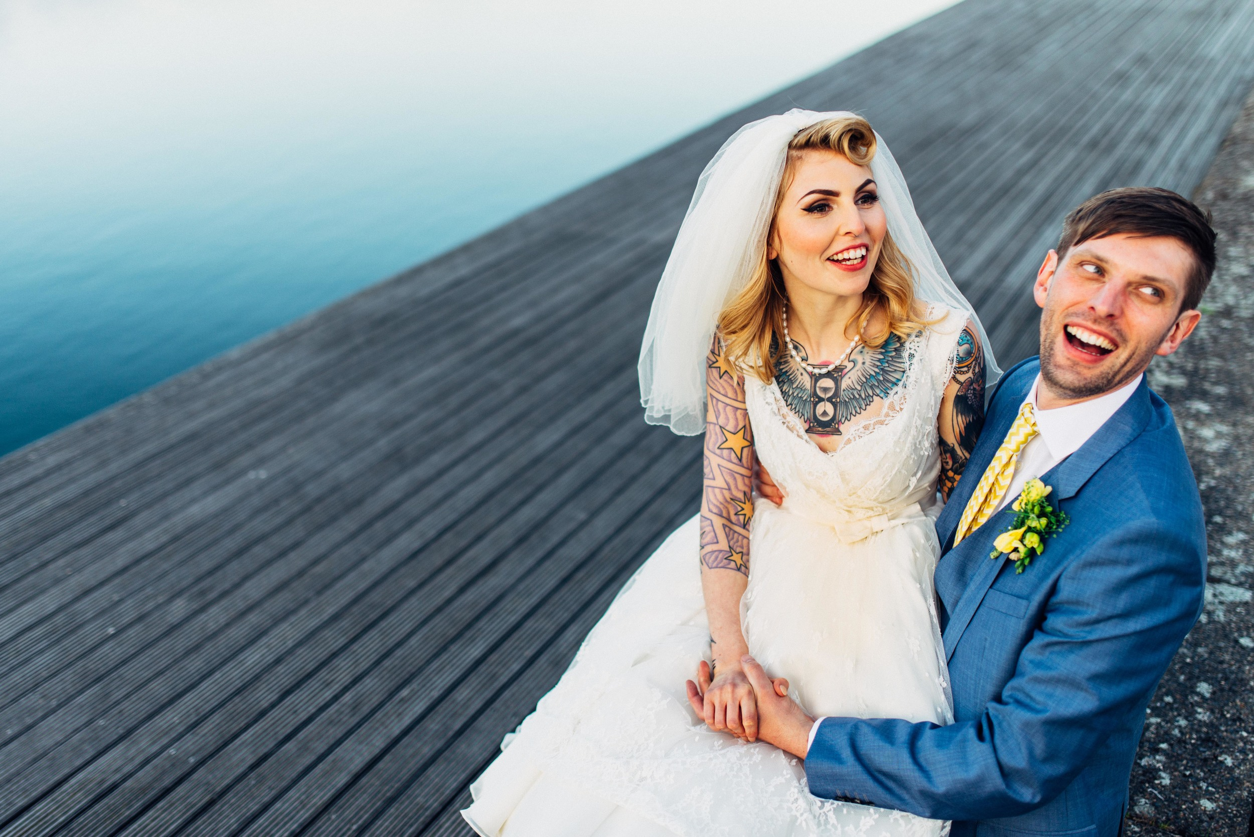 Laura and Dave - a nautical themed wedding in London