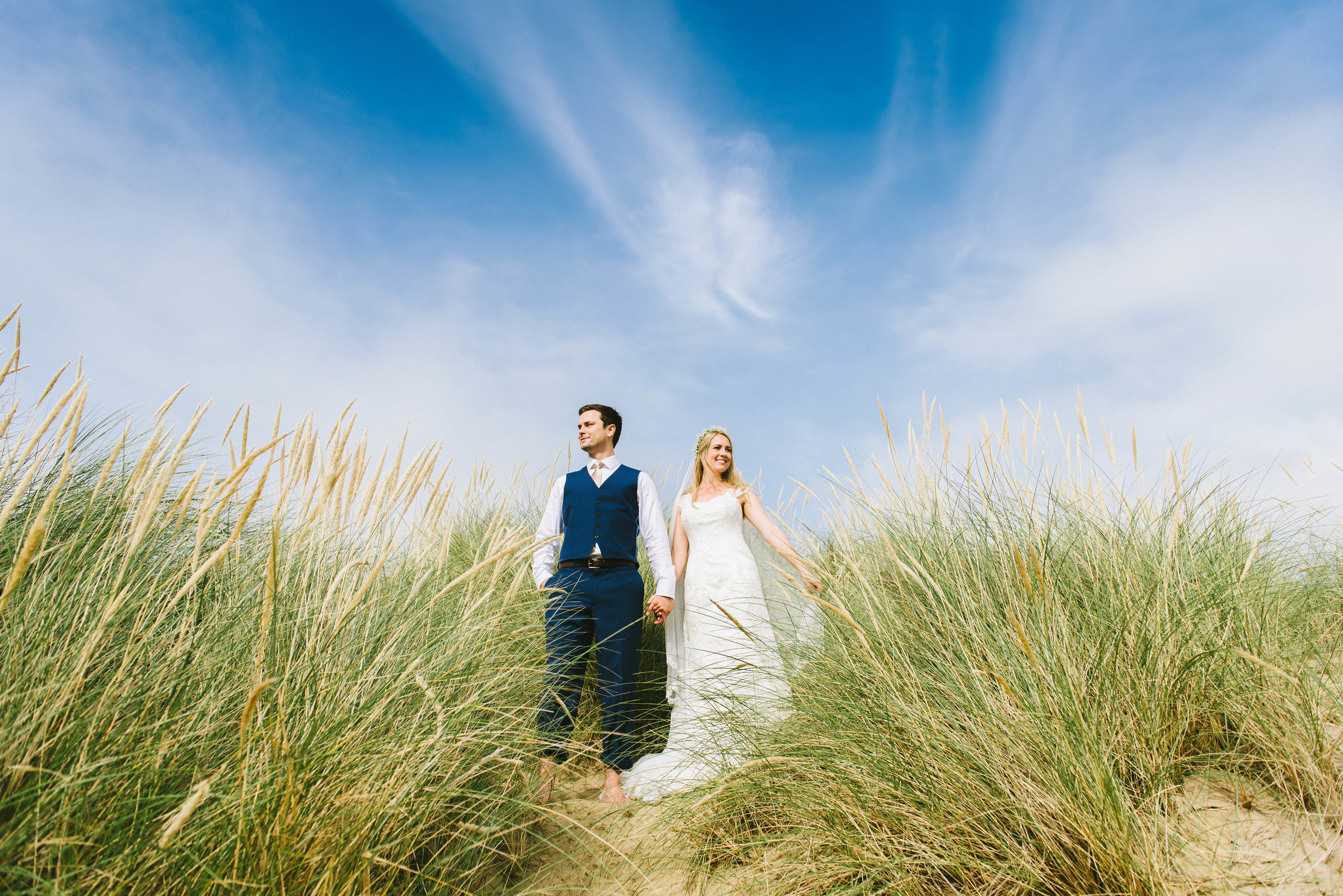 East Sussex wedding at the Gallivant in Camber Sands - Steph + Graham