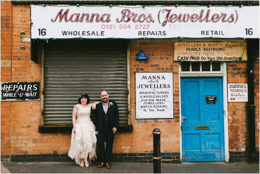 Jewellery Quarter wedding Birmingham
