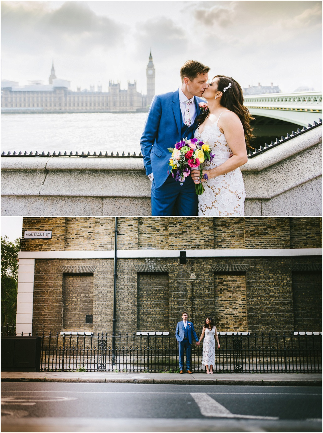 London Bridge wedding