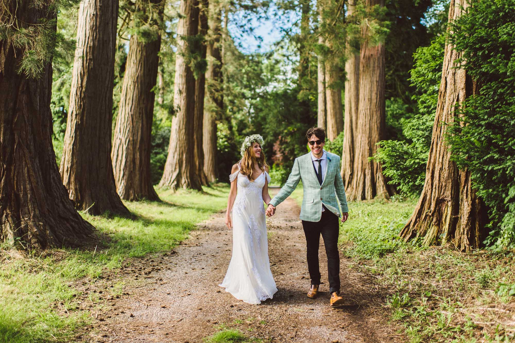 Summer wedding at Patrick's Barn, West Sussex - Harriet and Stuart