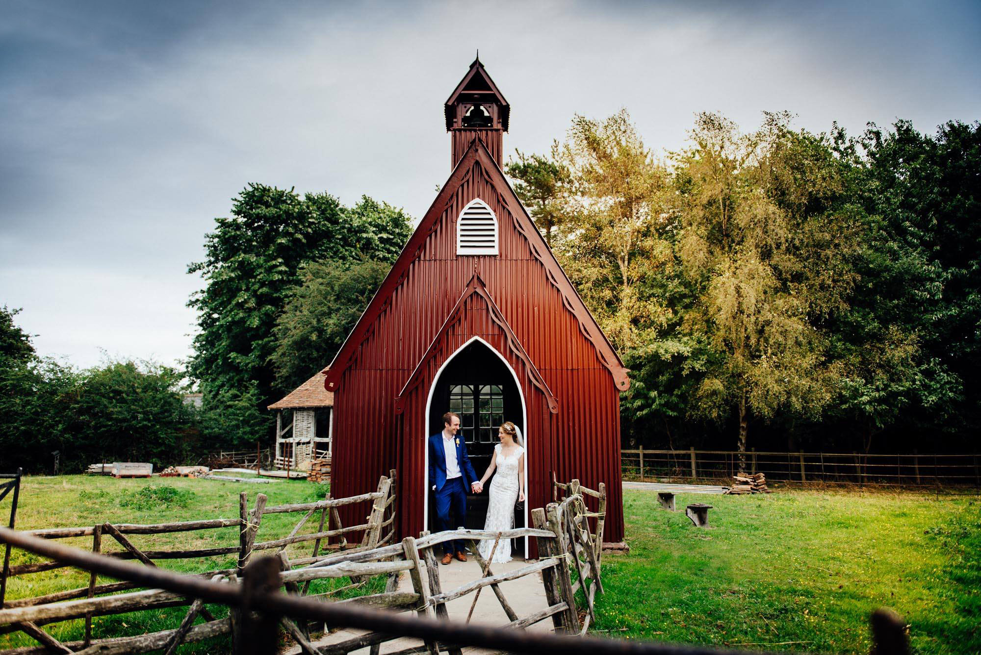 Chiltern Open Air Museum, Buckinghamshire wedding photography - Joely and Oli