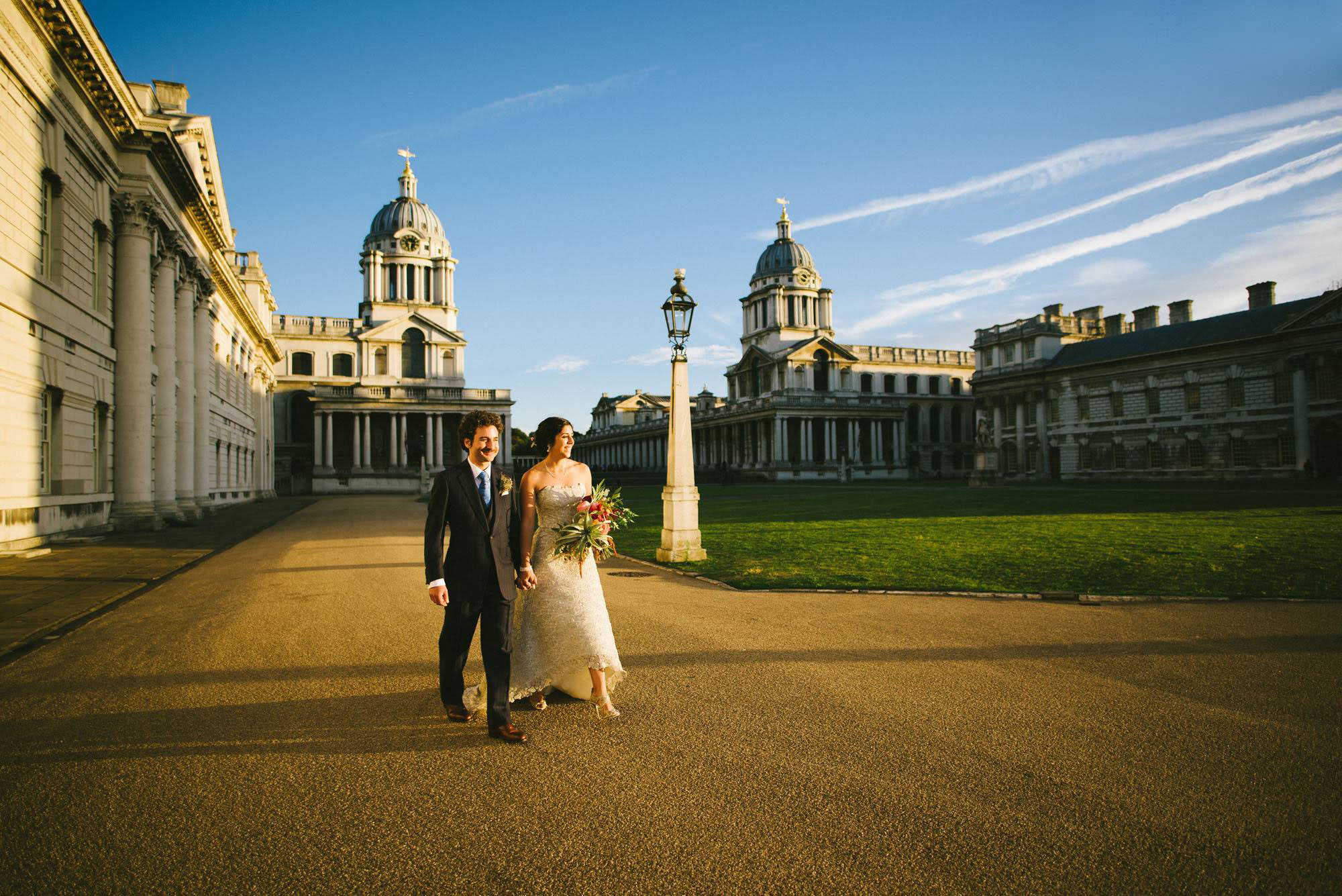 London wedding photography at the Old Royal Naval College - Isabel and Ross