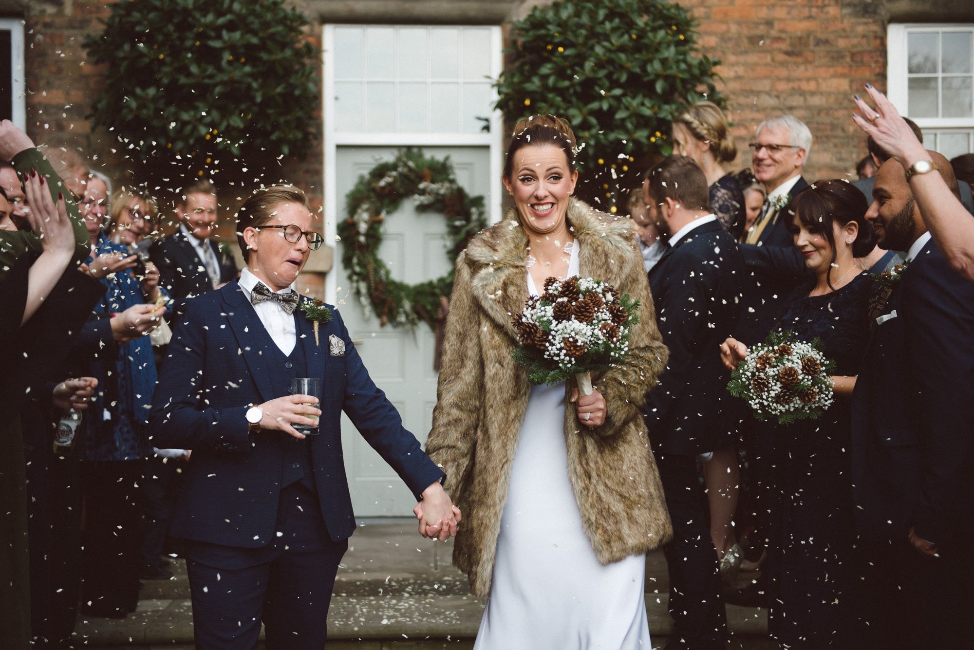 West Mill Derbyshire wedding photography - Rachael and Hayley