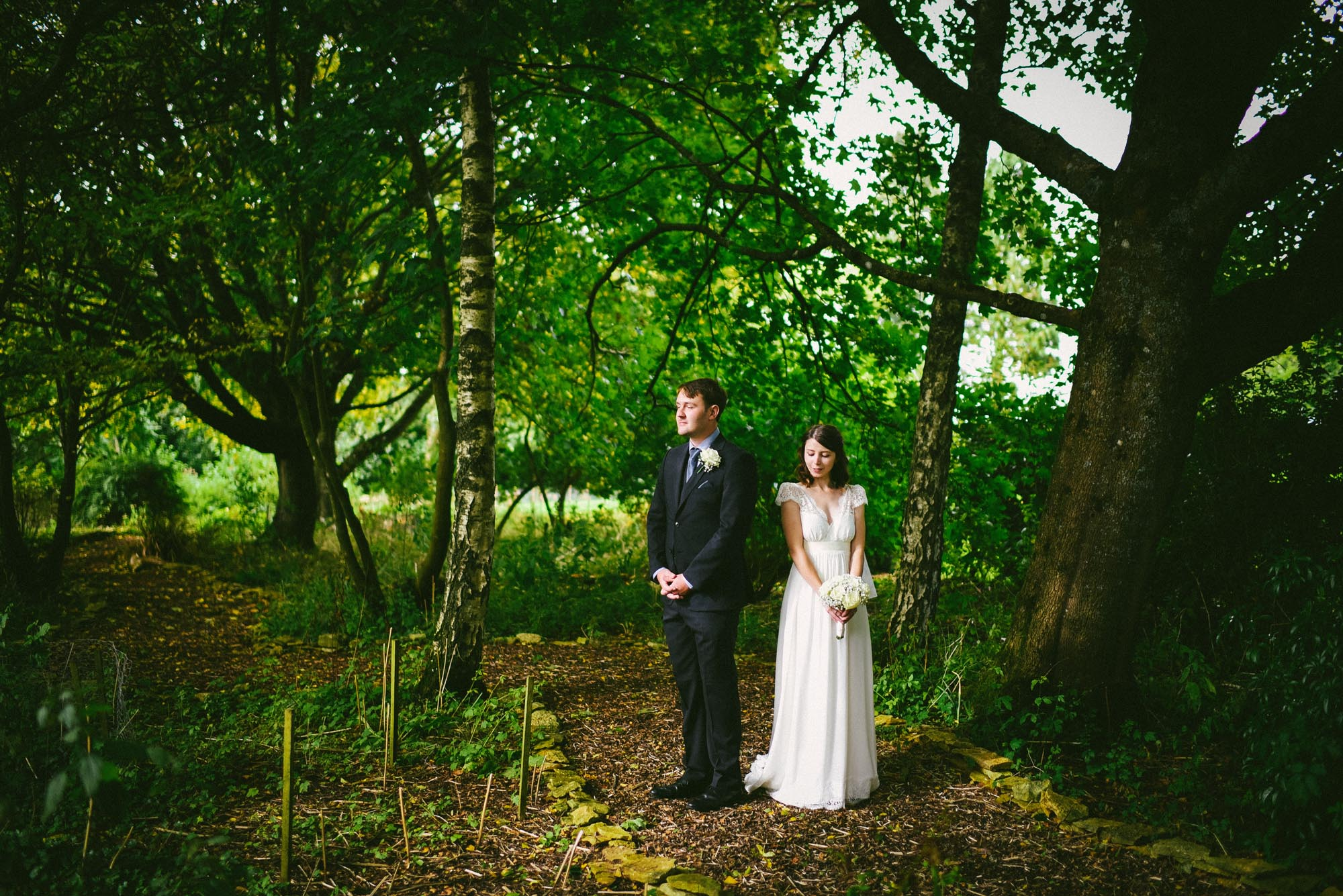 The Great Tythe Barn in Tetbury wedding photography - Charlotte and Mike