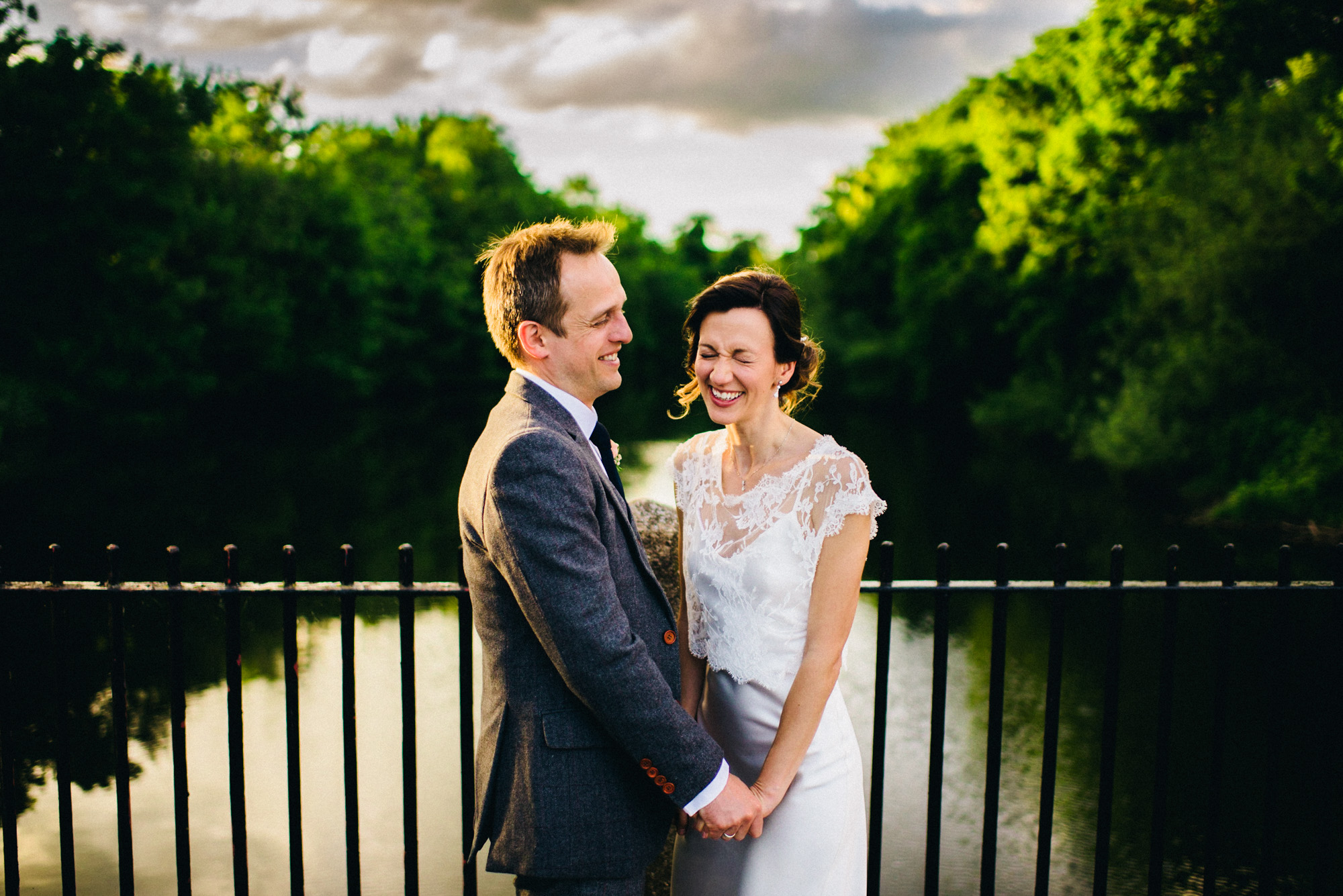 Derbyshire wedding photography at West Mill - Nadia and Adam