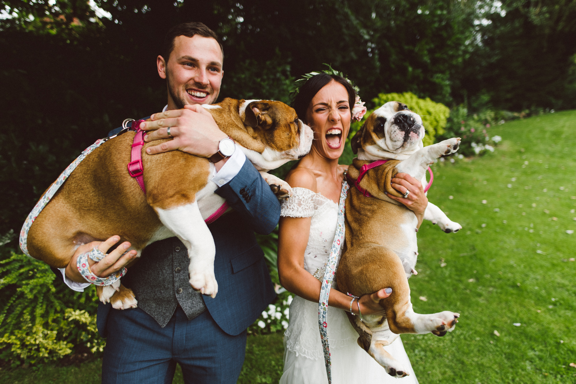 Nottinghamshire wedding photography at the Old Vicarage in Southwell - Lori & Jake