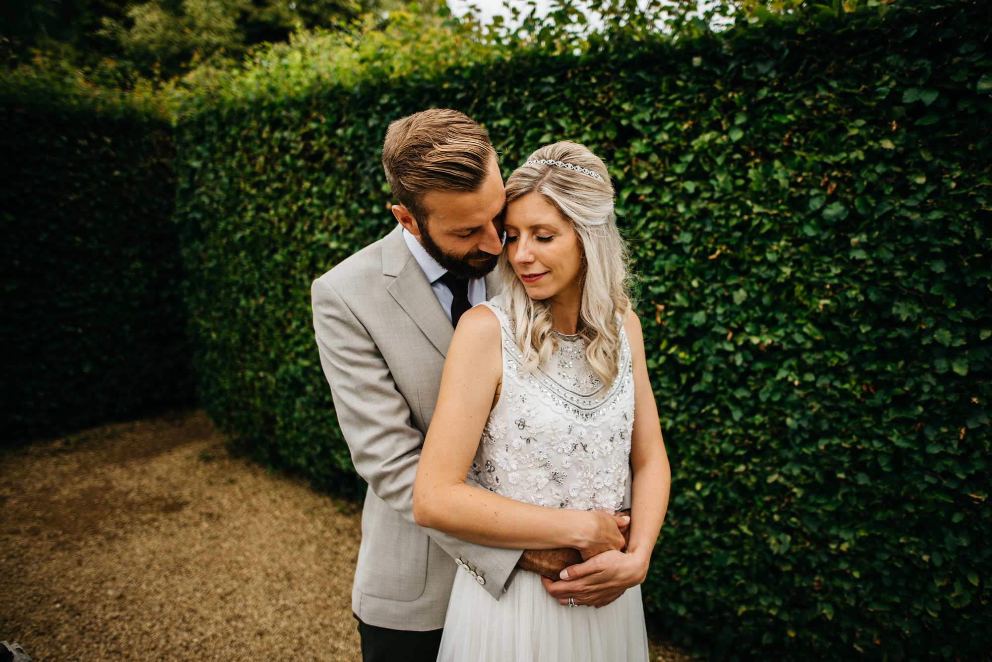 Barnsdale Gardens wedding photography - Claire and Alex