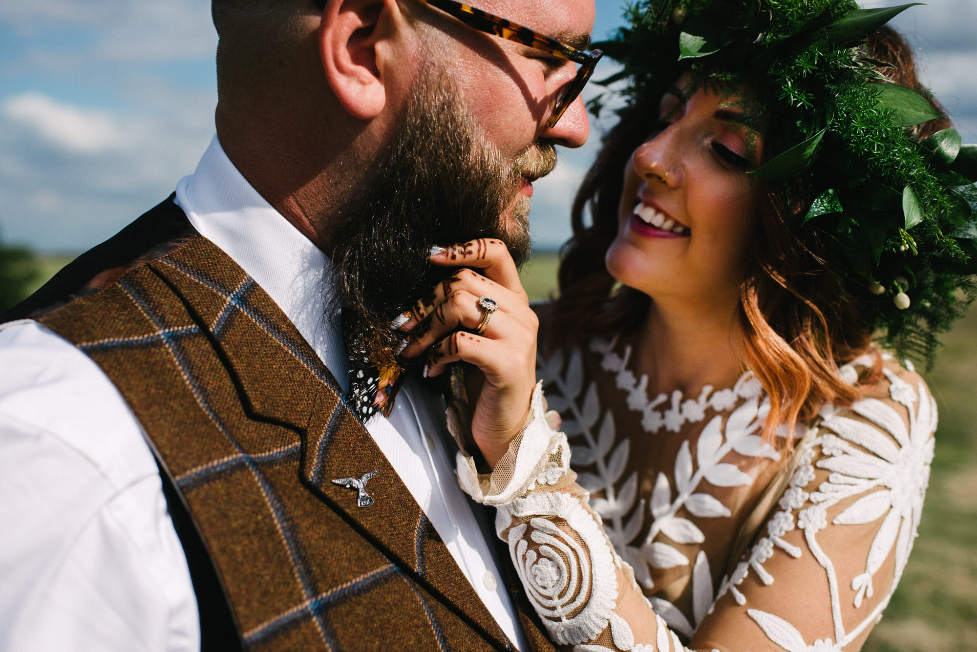 Elmley Nature Reserve in Kent wedding photography - Gemma and Chris