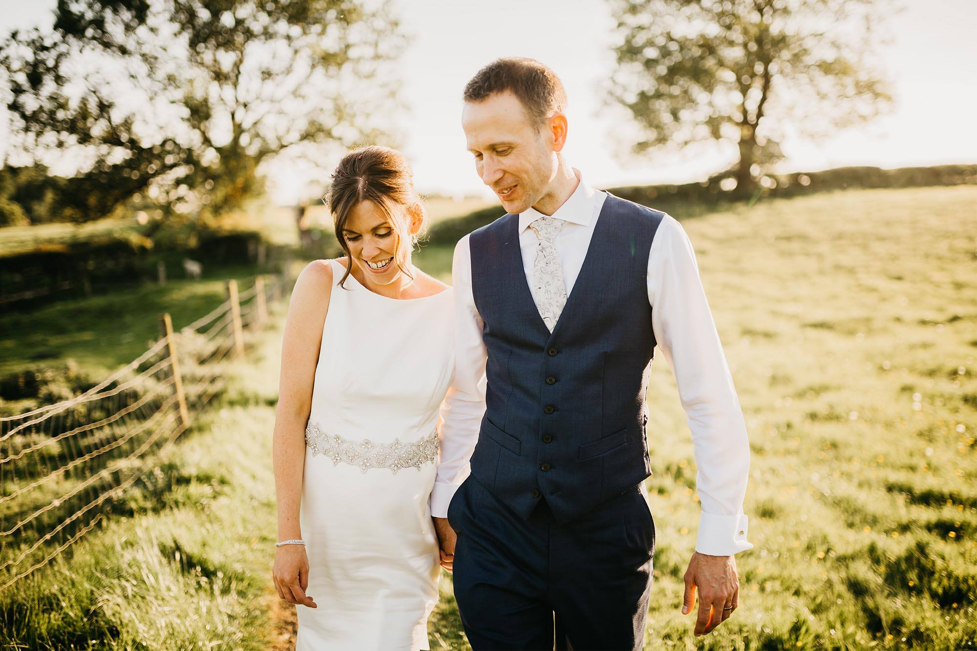 Northamptonshire village hall countryside wedding photography - Cass and Mark