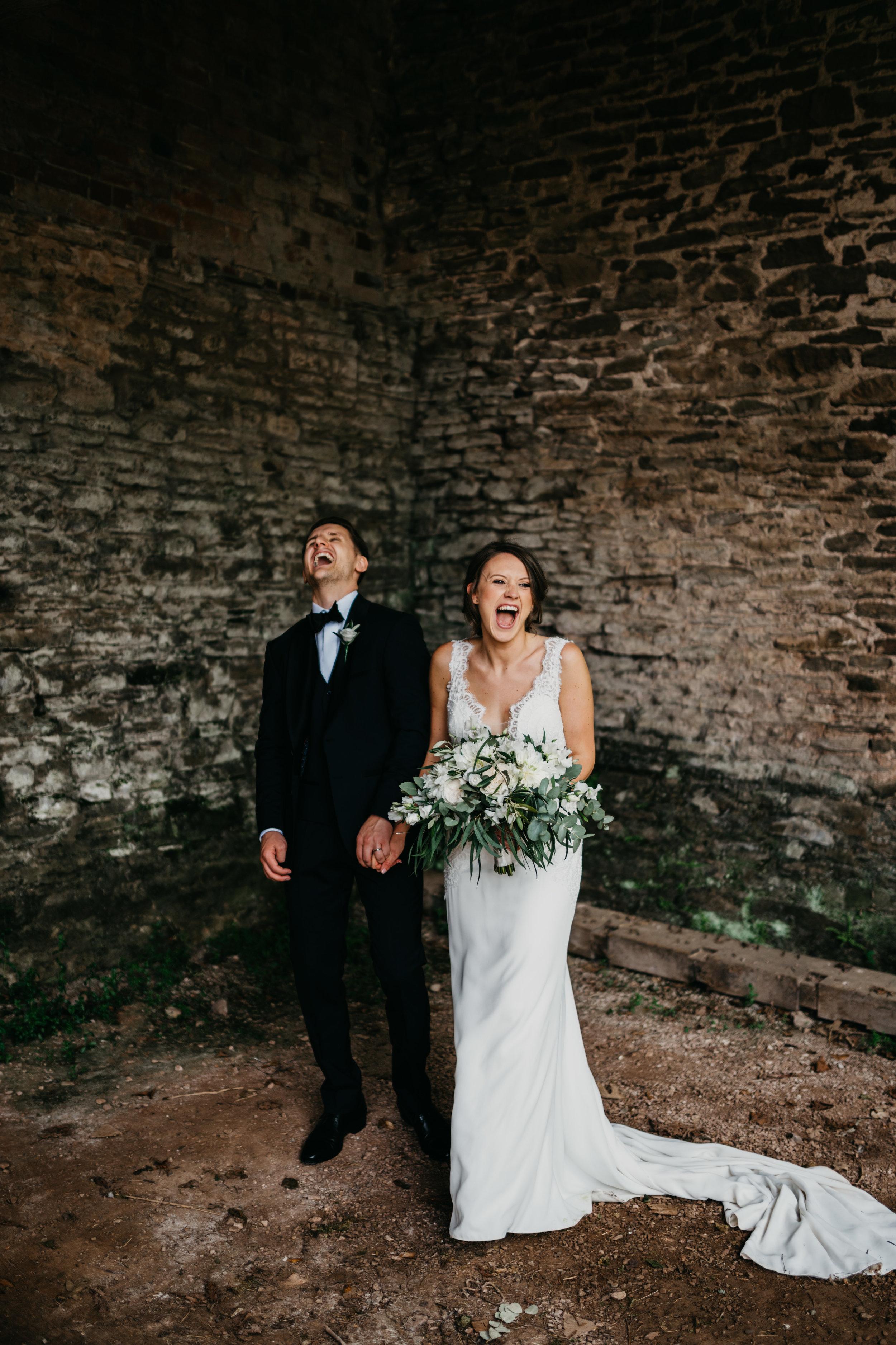 Dewsall Court wedding photography - Josie and Matt