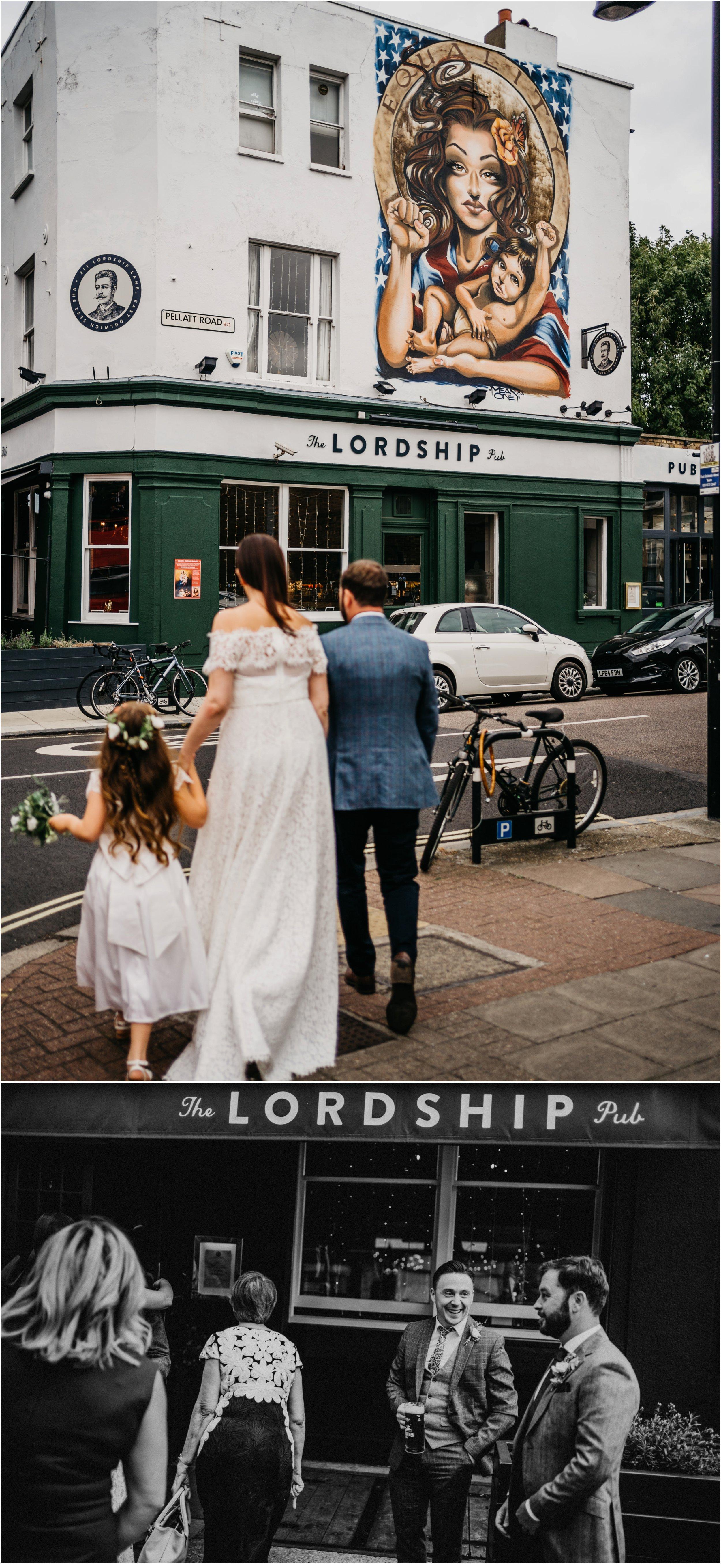 Lordship Pub Dulwich wedding photographer_0077.jpg