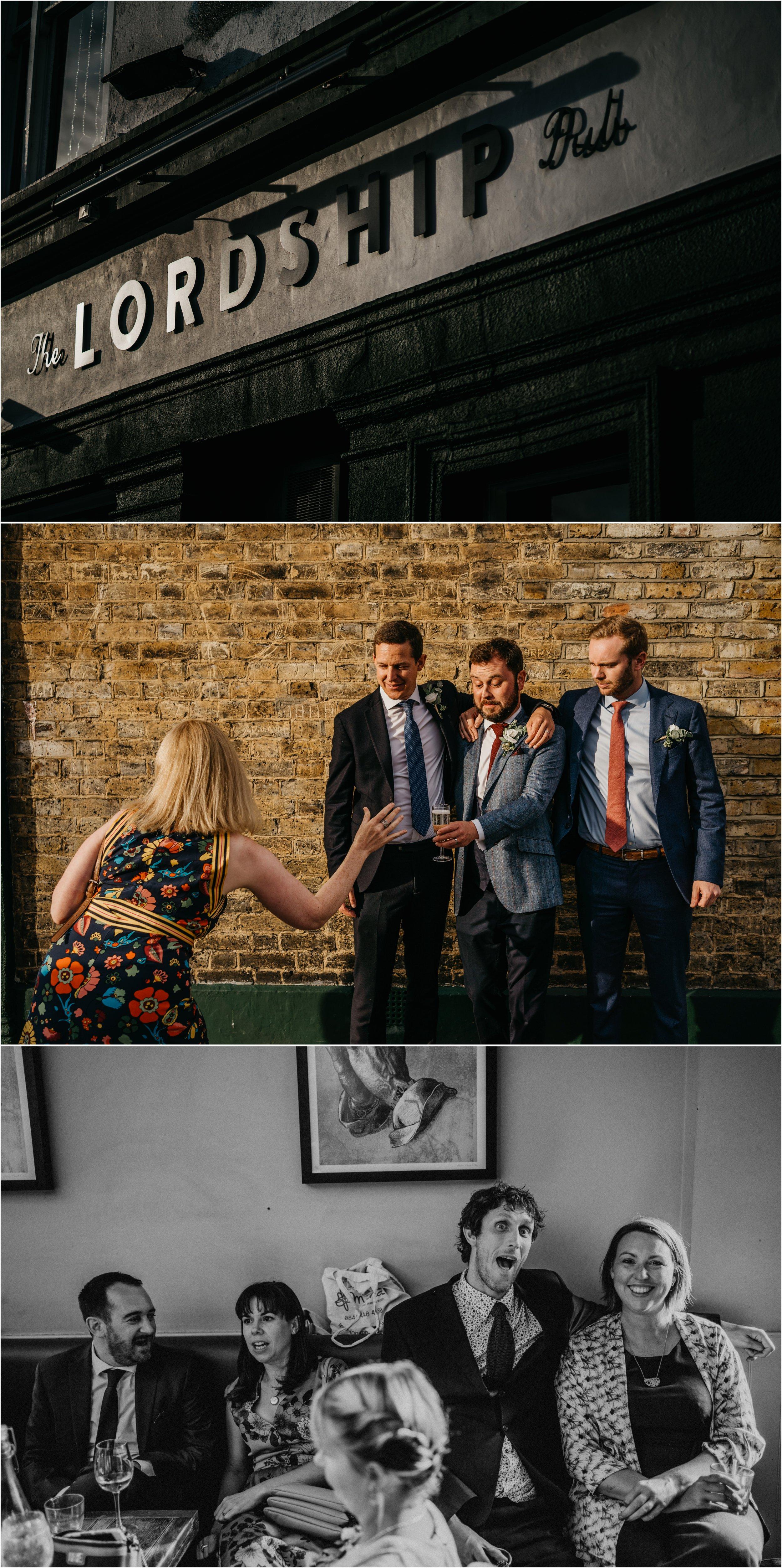 Lordship Pub Dulwich wedding photographer_0119.jpg