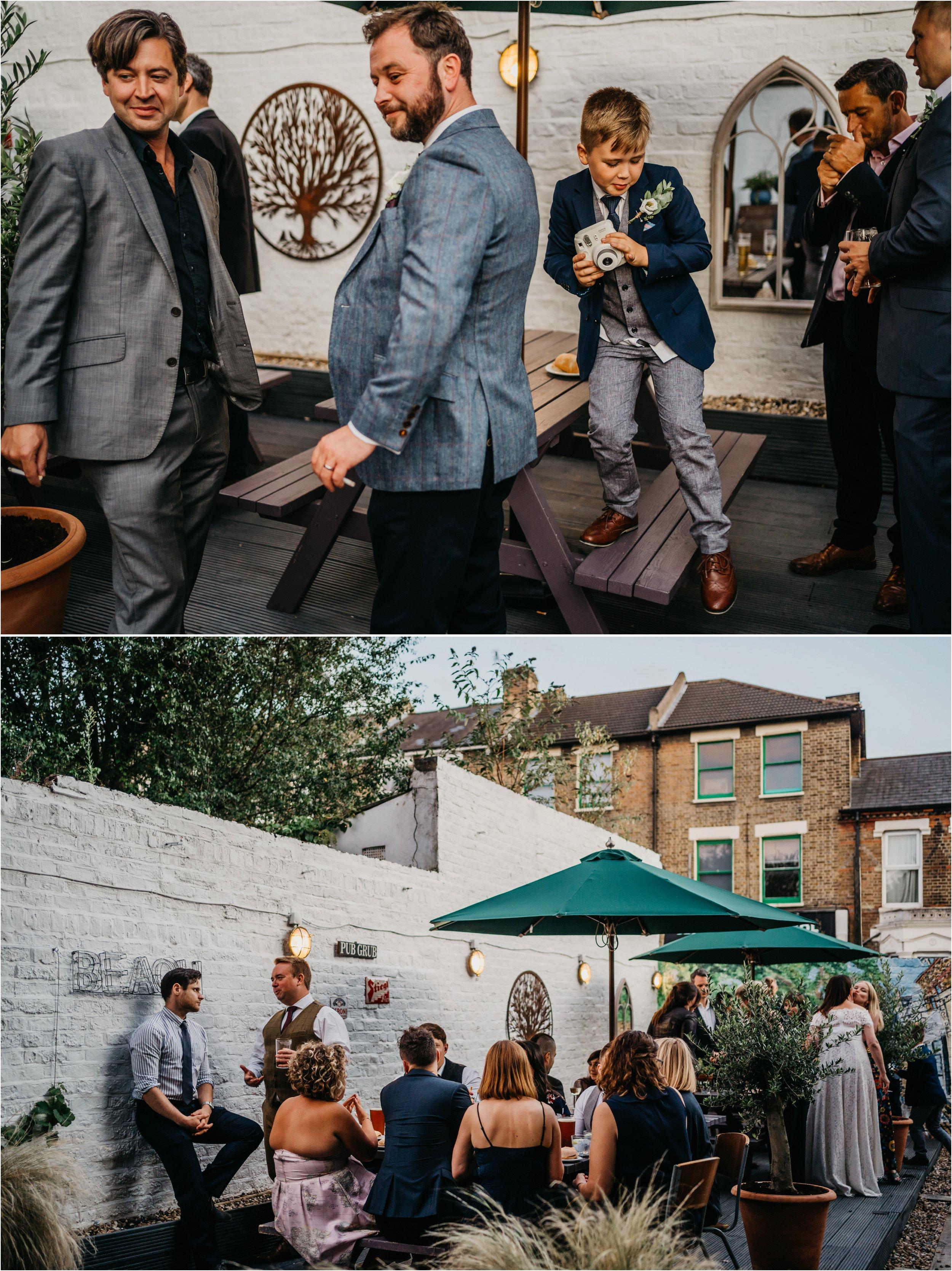 Lordship Pub Dulwich wedding photographer_0149.jpg