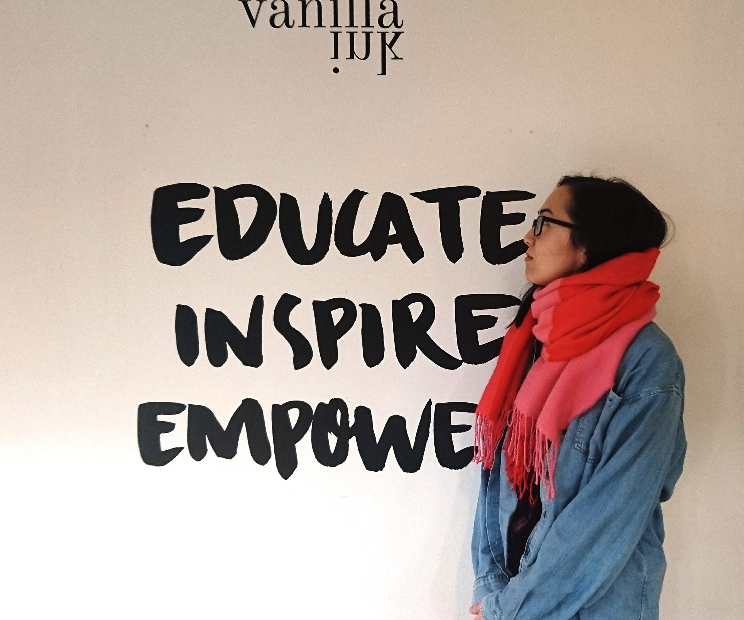 Louise Vanilla Ink Motto