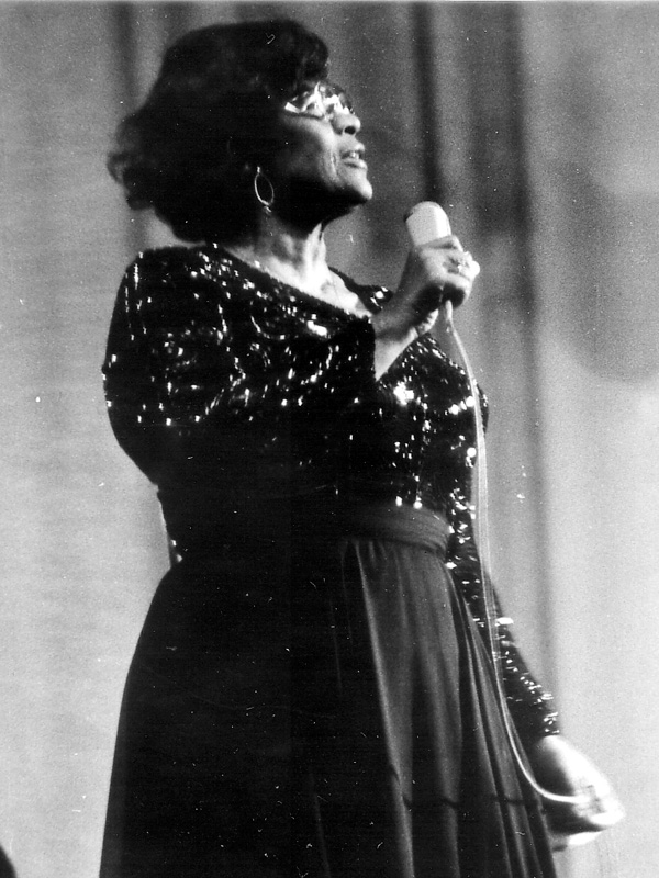 Ella Fitzgerald - Picture by Helmut Montag