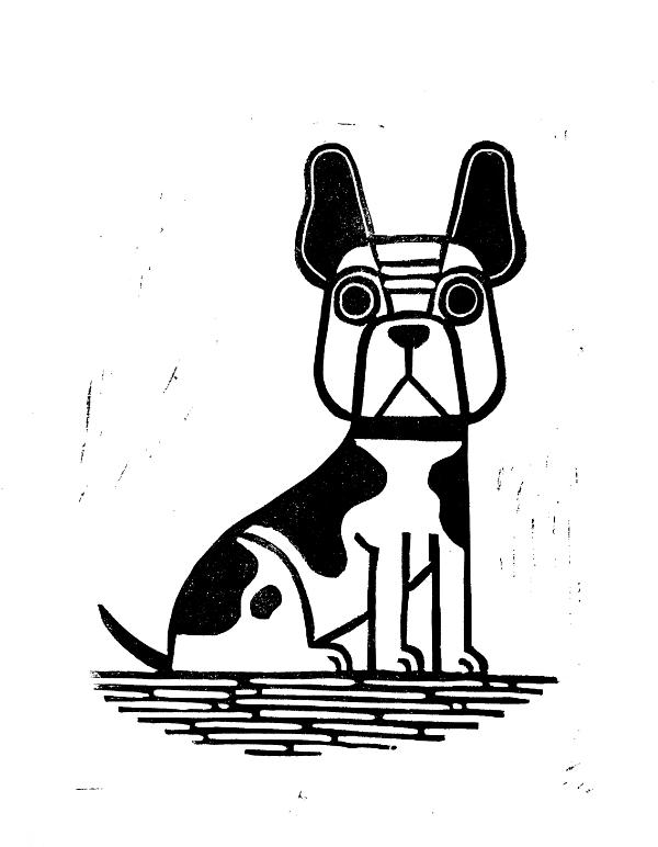 French Bulldog - Finished Print