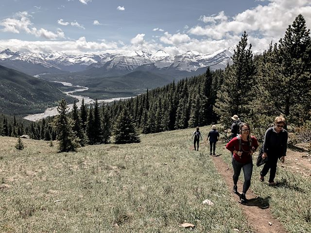 🇨🇦 HBD Canada, you beautiful thing. . . . #canada #canadaday #alberta #grateful #mountains #explorealberta #hike #yoga #getoutside #summer #adventure #yogacamp #rockymountains #kananaskis #braggcreek #powderface