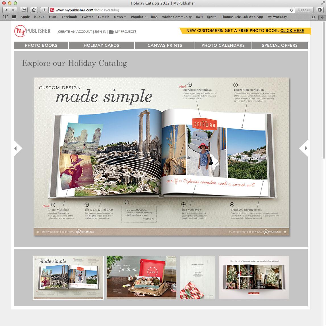 MyPublisher Online Catalog